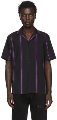 Saturdays NYC Black Canty Stripe Shirt