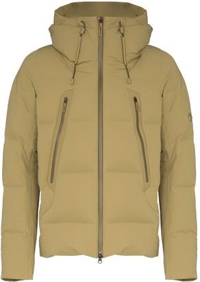 Mizusawa hooded puffer jacket