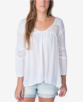 O'Neill Baja Crochet-Trim Peasant Top, A Macy's Exclusive
