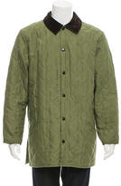 Barbour Quilted Corduroy-Trimmed Coat