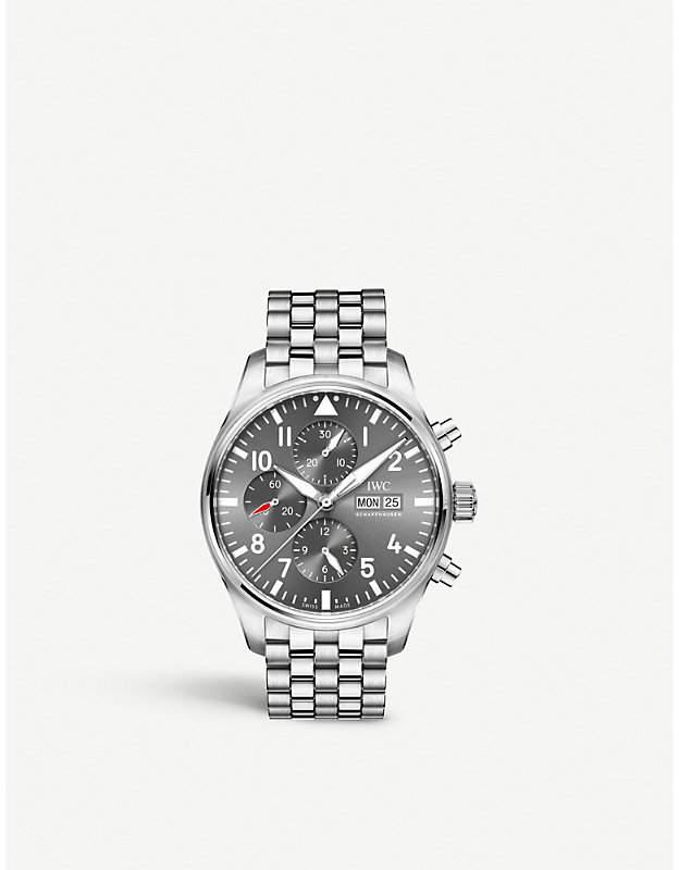 IWC IW377719 pilot spitfire stainless steel watch