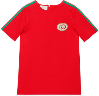 Gucci Children's tunic top with Web