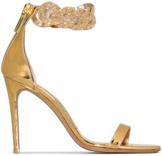 Alexandre Vauthier Elsa 100mm chain-strap sandals