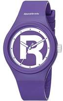 Reebok Icon Women's Quartz Watch with Purple Dial Analogue Display and Purple Silicone Strap RC-IDR-L2-PUIU-UW