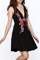 Mystic Rose Embroidered Dress