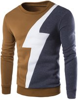 Xi Peng Mens Vintage Crewneck Knitted Cotton Slim fit Pullover Sweaters