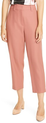 Judith & Charles Cordoba Crop Stretch Wool Pants
