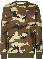 Givenchy camouflage print sweatshirt - men - Cotton/Calf Leather - S