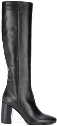 Societe Anonyme Block-Heel Knee Boots