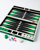 Jonathan Adler Green Lacquer Backgammon Set