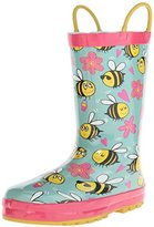 Western Chief Kids' Busy Bee Rain Pull-On Boot