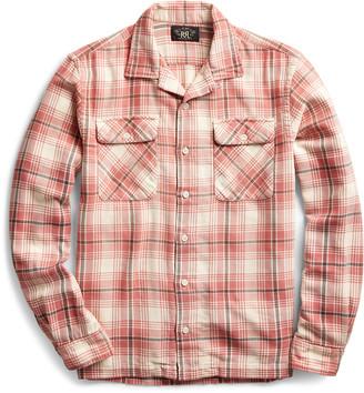Ralph Lauren Plaid Twill Camp Shirt
