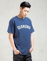 Diamond Supply Co. Navy Diamond Arch T-shirt