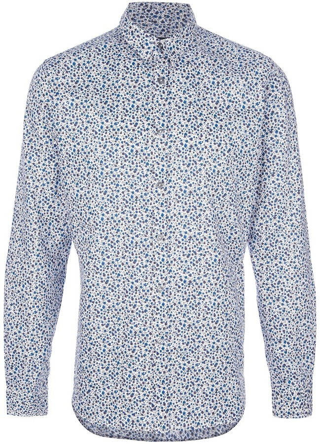 Paul Smith floral print shirt