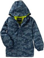Osh Kosh Camo Rain Jacket