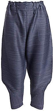 Pleats Please Issey Miyake Women's Thicker Bounce Pants