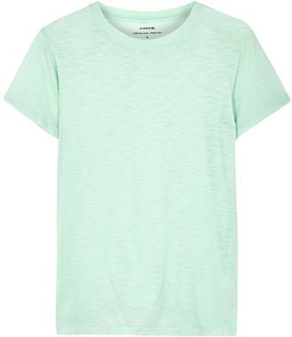 Vince Mint Pima cotton T-shirt