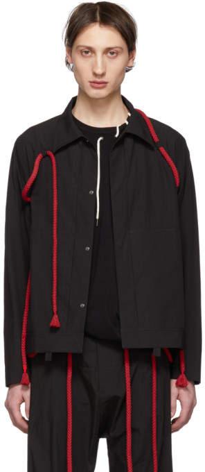 Craig Green Black Rope Worker Jacket