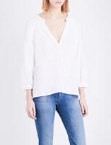 Masscob V-neck cotton top