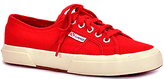 Superga 2750 - Canvas Platform Sneaker in Red