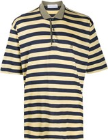 Givenchy Pre Owned 1990s striped polo shirt