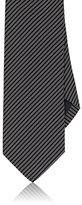 Drakes Drake's Men's Pinstriped Silk Necktie
