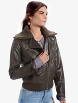 Lucky Brand Olive Moto Jacket