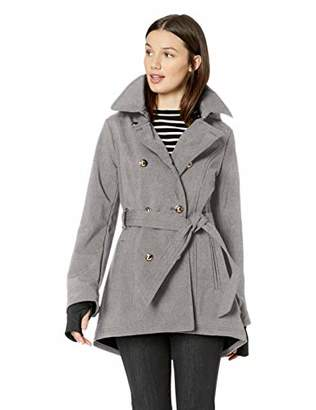 Jessica Simpson Women's Double Breasted Fashion Coat
