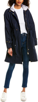 Barbour Harper Showerproof Long Rain Jacket