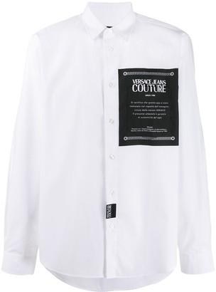 Versace Printed Patch Shirt