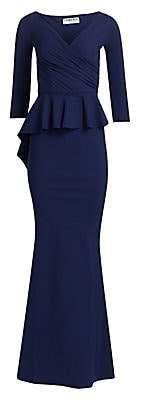 Chiara Boni Women's Nelinka Peplum Gown