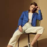 Sandro Minimalist wool and cotton coat