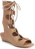Sugar Alba Women's Wedge Gladiator Sandals