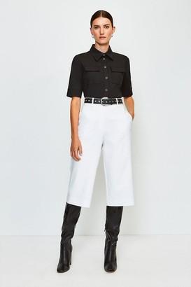Karen Millen Tailored High Waist City Short