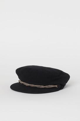 H&M Wool-blend Captain's Cap