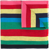 Paul Smith striped scarf - men - Cotton/Linen/Flax/Viscose - One Size