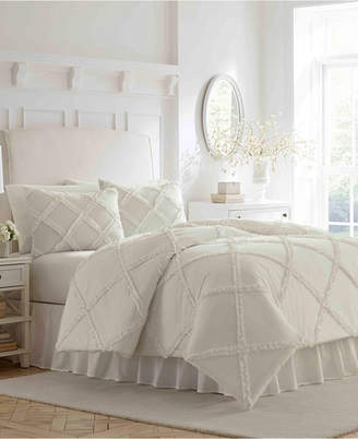 Laura Ashley Maeve Ruffle Twin Comforter Set Bedding