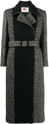 Ports 1961 Chevron Double-Breasted Coat