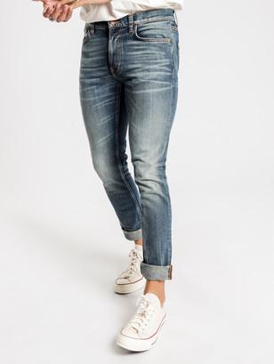 Nudie Jeans Lean Dean Slim Fit Jeans in Blue Temple
