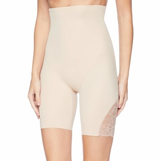 Naomi & Nicole Naomi and Nicole Women's A Little Lace A Lot of Shape Hi Waist Thigh Slimmer