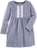 Osh Kosh Striped Henley Dress