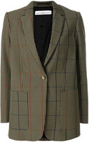 Golden Goose Deluxe Brand oversized checked blazer