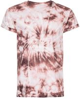 Topman Purple Blow Out Muscle Fit Roller T-Shirt