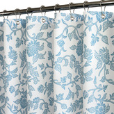 "B. Smith Park Floral Swirl Blue 72"" x 72"" WaterShed® Shower Curtain"