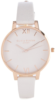 Olivia Burton Women's Big Dial Blush and Rose Gold Watch Rose Gold