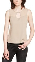 Vero Moda Women's Plain or unicolor Short sleeve Vest - -
