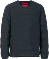 The North Face quilted sweatshirt