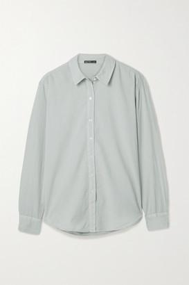 James Perse Cotton-voile Shirt - Light gray