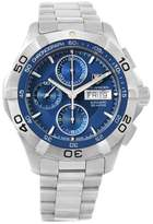 Tag Heuer Aquaracer CAF2012 Stainless Steel Blue Dial Automatic 43mm Mens Watch