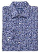 Etro Paisley Print Cotton Button-Down Shirt